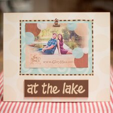 <strong>Glory Haus</strong> At The Lake Clip Picture Frame