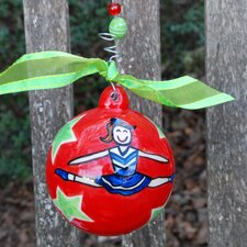 Cheerleading Ball Ornament