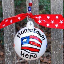 Hometown Hero Ball Ornament