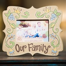 <strong>Glory Haus</strong> Our Family Picture Frame