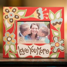 Love You More Picture Frame
