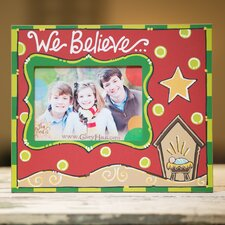 We Believe Picture Frame