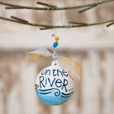 On The River Ball Ornament