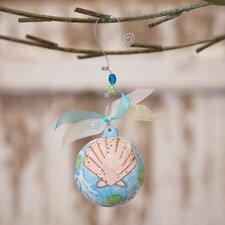 Beach Shell Ball Ornament