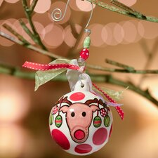 Decorate Reindeer Ball Ornament