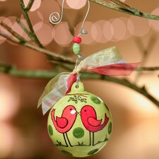 Merry Christmas Darling Ball Ornament