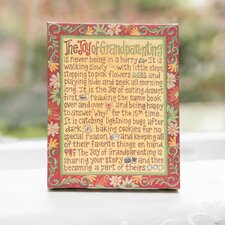 Joy of Grandparenting Table Top Canvas
