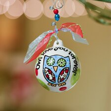 Owl Love You Forever Ball Ornament