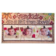 Grandkids Clip Memorabilia on Canvas