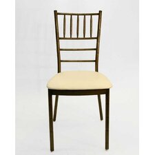 Max Chiavari Metal Ballroom Chair with Cushion