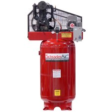 <strong>Schrader International</strong> Professional Series Two Stage 5 HP Single Phase 80 Gallon Vertical Air Compressor