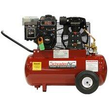 5.5 HP 20 Gallon Compressor For Contractors Gas Powered Air Compressor