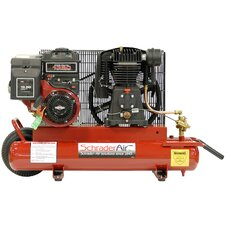 5.5 HP 8 Gallon Compressor for Contractors Gas Powered Air Compressor