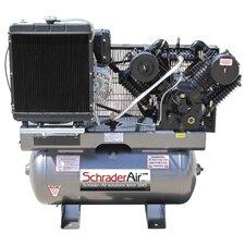 30 Gallon Service Industry 16.8 HP Diesel Kohler Powered Air Compressor