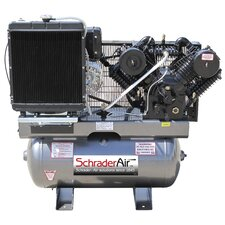 30 Gallon Service Industry 16.8 HP Diesel Kohler Powered Air Compressor