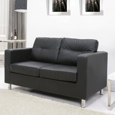 Star Leather 2 Seater Sofa