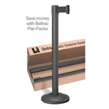 <strong>Lavi Industries</strong> Contempo 7.5 Ft. Retractable Chrome Belt Stanchion