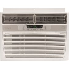 10,000 BTU Energy Efficient Window-Mounted Compact Air Conditioner with Temperature Sensing Remote Control