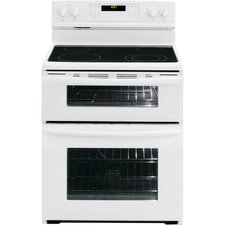 Gallery Series Electric Freestanding Double-Oven Range with Quick-Clean