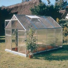 "Basic 6' 6"" H x 9'9 W x 6'6"" D Plastic Greenhouse"