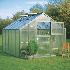 "Premium 7' 10"" H x 12'2"" W x 9'1"" D Polycarbonate Greenhouse"