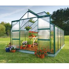 <strong>Juliana Greenhouses</strong> Compact Polycarbonate Greenhouse
