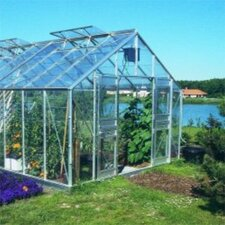 "Gardener 8' 8"" H x 32'9"" W x 11'9"" D Polycarbonate Commercial Greenhouse"