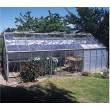 "Gardener 8' 8"" H x 24'8"" W x 11'9"" D Polycarbonate Commercial Greenhouse"