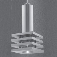 Alume 1 Light Square Pendant Light