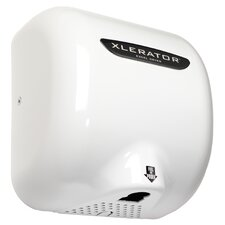 White Thermoset (BMC) XLERATOR Automatic Surface Mounted Hand Dryer