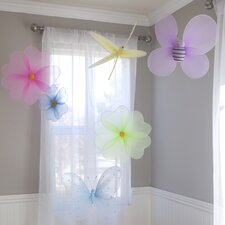 6 Piece Hanging Bugs 3D Wall Décor Set