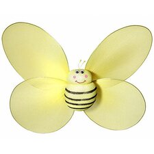 Bumble Bee with Smiling 3D Wall Décor