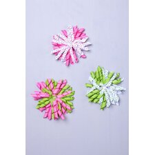Ball Hair Clip (Set of 3)