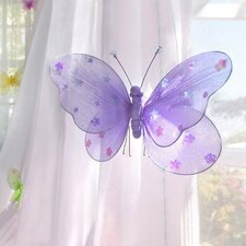 Sequined Hanging Butterfly 3D Wall Décor