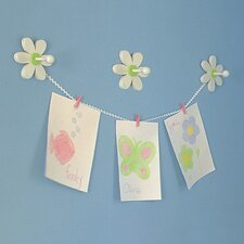 Daisy Peg Coat Hook (Set of 3)