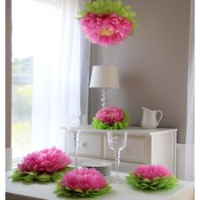 <strong>Heart to Heart</strong> Paper Flower Pom (Set of 7)