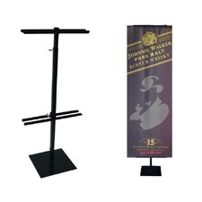 "24"" - 45"" Vertical Adjustable Double-Sided Counter Stand"