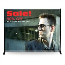 "96"" - 120"" Width Adjustable Powerframe Banner Display Stand"