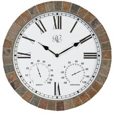 "15"" Tile Wall Clock"