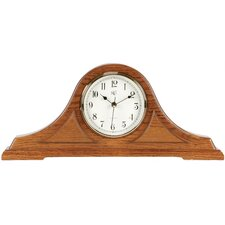 Mantel Radio Controlled Clock in Oak