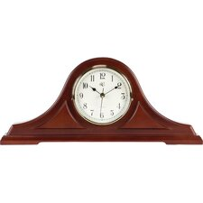 Mantel Radio Controlled Clock in Cherry