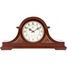 Traditional Chiming Mantel Clock in Cherry