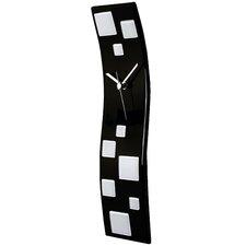 Wave Glass Art Clock