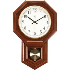 Clock with Schoolhouse Design