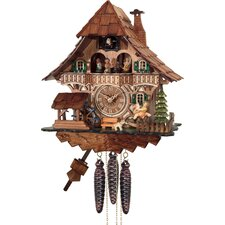 <strong>River City Clocks</strong> One Day Musical Forest Cuckoo Wall Clock