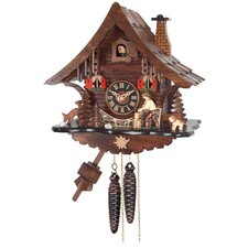 <strong>River City Clocks</strong> One Day Cottage Cuckoo Wall Clock