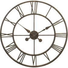 "<strong>River City Clocks</strong> Oversized 30"" Skeleton Tower Wall Clock"