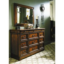 Raylen Vineyards Raylen 9 Drawer Triple Dresser