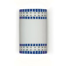 Mosaic Borders 1 Light Wall Sconce