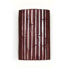 Nature Bamboo 1 Light Wall Sconce